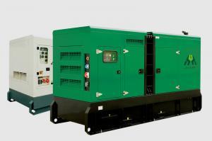 China Water-Cooled Genset Diesel Generator , 40KW 50kVA Cummins Engine supplier