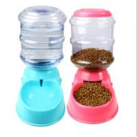 Dog Automatic Drinking Fountain Cat Automatic Feeding Cat Dog Food Bowl Gravity Drinking Basin 3.5L