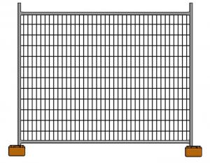 China Outdoor Portable Residential Australian Temporary Fencing 2.1x2.4m Movable on sale