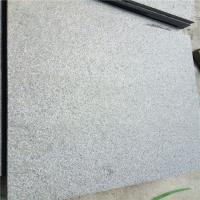 China Granite Dark Grey G654 Granite Floor Tiles Paving Stone Brushed Surface 60x60x1.5cm