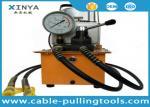 ligne de transmission électrique de pompe hydraulique de 220V 700bar ficelant des outils avec le perforateur hydraulique, cintreuse, cylindre