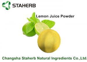 China Lemon Juice Powder / Natural Food Additives Anti- Aging And Anti - Hyperpigmentation on sale