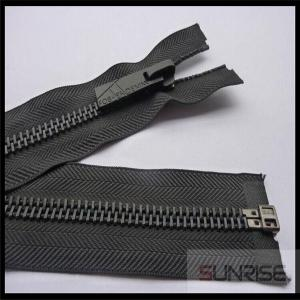China High quality #3 metal zipper with black nickel teeth C/E for sale on sale