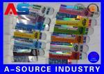 カスタマイズされたレーザー光線写真10mlガラスびん箱/収納箱規則的なCMYKの印刷