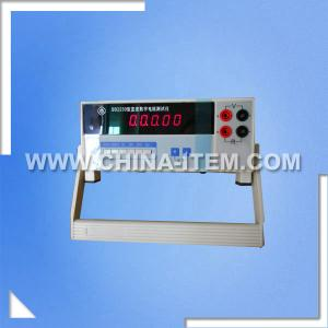 China LX-SB2230 20mohm-2kohm Digital DC Resistance Tester for Resistance Bridge Measurement on sale