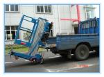 China Window Cleaning Operate Elevated Work Platforms , 8 Meter Height Vertical Mast Lift wholesale