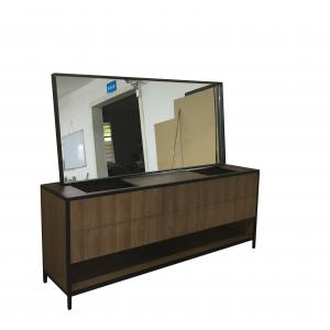 China Customized Simple Modern Bathroom Vanity Cabinets With Drawers , Eco - Friendly on sale