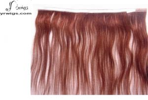 China Pre-Taped Hair Extension, Double Sided Tapehair Exension, Skin Weft on sale