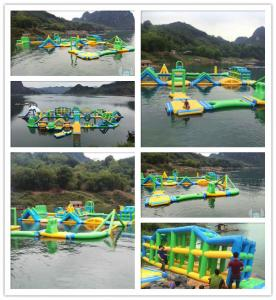 China Anti Corrosion Inflatable Floating Water Park Flame Retardant Inflatable Sports Game on sale