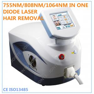 China Professional Home Laser Hair Removal Machine With 10 Laser Bars on sale