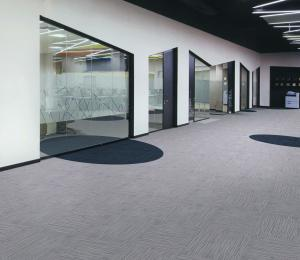 China Colored Office Carpet Flooring , 100 Polypropylene Carpet Unique Design on sale