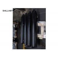 12 Stroke Telescoping Single Acting Dump Trailer Hydraulic Cylinder Ram