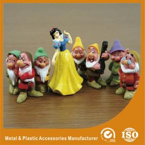 China Snow White Princess And The Seven Dwarfs Small small people figures OEM miniature plastic people on sale