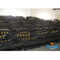 Rubber Chemical Spill Containment , Oil Spill Absorbent Booms For Pollution Control