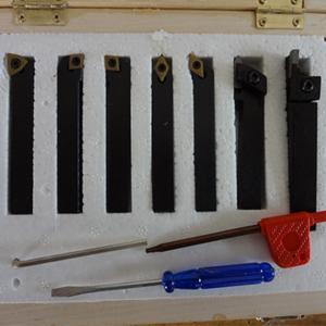 China CNC lathe turning tool holder set 7pcs 08mm on sale