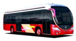 China natural gas city bus CNG luxury  buses CKZ6116 on sale