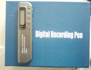 China OEMの128MB/256MB/2GBフラッシュ・メモリの音声起動型の手持ち型のボイス レコーダ装置 on sale