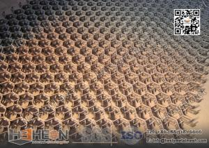 China HexMetal 14gauge THK, 15mm height, Low Carbon Mild Steel | China Hex Metal Factory on sale