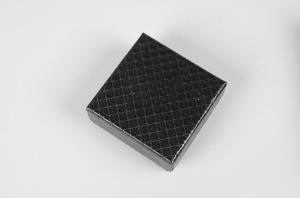 China Black Color Collapsible Gift Boxes For Childen Birthday Matt Lamination on sale