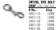 China Swivel Eye Bolt Snap. on sale