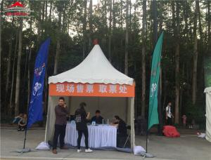 China Fire Safety Pagoda Party Tent For Temporary Warehouse Easy To Set Up And Dismantle on sale