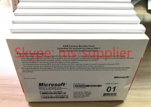 China 64- Bit Windows Server 2008 OEM System Builder Pack Full Version Sealed on sale