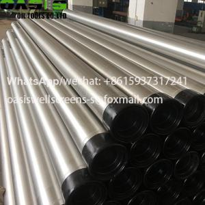 China ASTM A312 Stainless Steel Welded Water Well Casing Tube Plein on sale