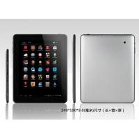 China 9.7 inch capacitive tablet pc Allwinner A31 Quad Core Cortex A7 Android 4.0 wifi hdmi dual cameras on sale