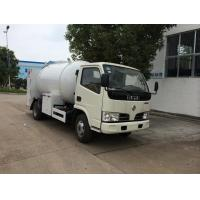 China cheapest price 95hp DONGFENG 4*2 LPG Filling Vehicle 2500L-5000L for sale, factory sale lpg gas dispensing truck