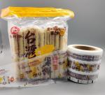 Food Printed Packaging Roll MOPP CPP Flexible Plastic Films 112mm Width