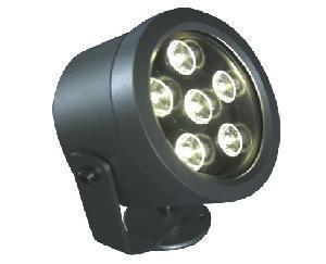 China LED Floodlight--6W Round Flood Light, Single Color or RGB Color (WD-FL-2001) on sale