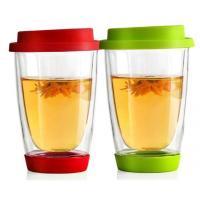 Handmade Thermo Double Wall Glass Coffee mugs for  Latte Tea dinning bar office,home school