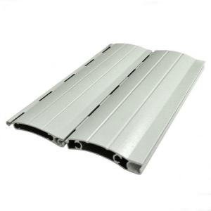 China Thermal Break Rolling Shutter Aluminum door extrusions For Automatic Roller Garage on sale