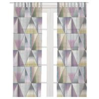 China Printing design bathroom curtains blackout curtain printed window on sale