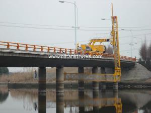 China National V 15+2m Aluminum Under Bridge Platform Truck Span Width 2.5 Meters on sale
