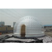 Transparent  Double Layer Inflatable Air Tent , Inflatable Dome Tent OEM
