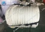 White Color Braided Polypropylene Rope Towing Rope For Ship High Molecular Weight