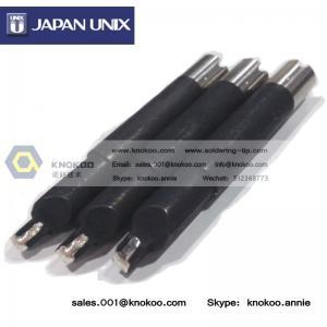 China Janpan UNIX P6V08-18 soldering iron tips for Japan Unix soldering robot, Unix cross bit on sale