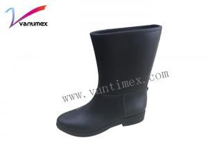 China Waterproof  Stylish Rain Boots fashion and comfort knee high rain boots on sale