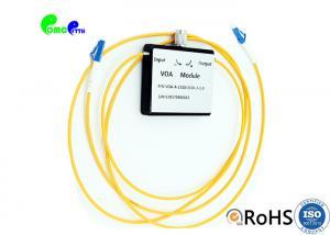 China Fiber Optic Attenuator Customized LC UPC - LC UPC VOA In Line Variable Attenuator SM 0~60dB on sale