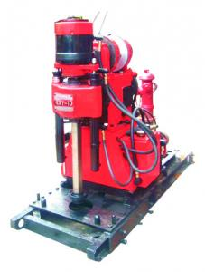 China GXY-1D Mining Exploration Drilling Rig Skid Mounted , Blast Hole Drilling on sale