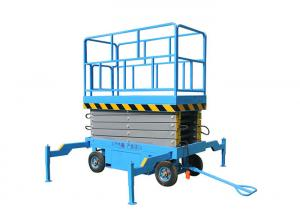 China Single Person Scissor Lift Platform , Self - Propelled Electric Scissor Elevator on sale
