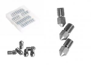 China High Resistance K10 0.4mm Tungsten Carbide Products Cemented 3D Printing Nozzle on sale