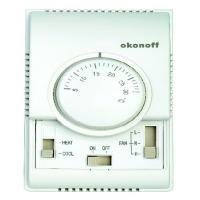 China Mechanical Room Electronic Fan Coil Temperature Controller Thermostats on sale