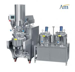 China Hydraulic Lifting Top Cover Vacuum Emulsifying Machine For Research And Development on sale