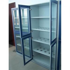 China Laboratory Furniture Glassware Cupboard Lab Storage Cabinet Labware Cabinet Steel Utensile Cabinet Vessel Cabinet on sale
