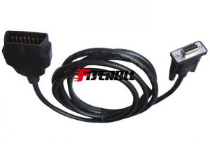 China FA-DC-OC13, Auto Conversion Cable Adapter OBDII Male(Short) To DB9P Female on sale