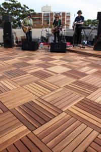 China wpc cheap wpc decking tile/wpc outdoor decking tile on sale