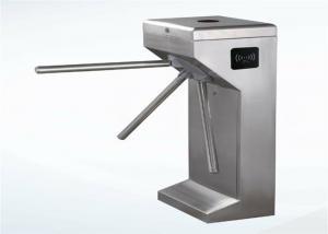 China Optimized bus station pedestrian turnstile gate waist high automatic tripod turnstile barrier on sale