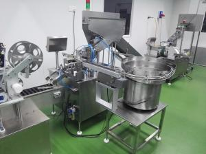 China SGM-40 Effervescent Tablets Roll wrapping Machine &Rolls Filling Capping into Tubes Machine on sale